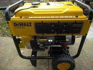 Generator nuevo DeWalt 7000 DX PRICE IS FIRM