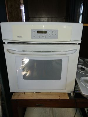 Kenmore gas stovetop and wall oven