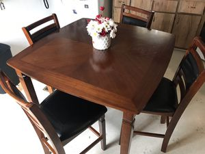 High Top Dining Table With 4 Chairs