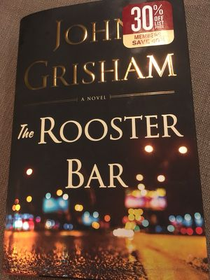 New JohnGrisham: The Rooster Bar