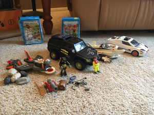 Playmobil space and spy sets