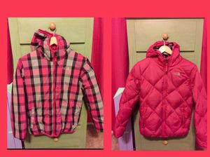 NORTH FACE jacket REVERSIBLE girls