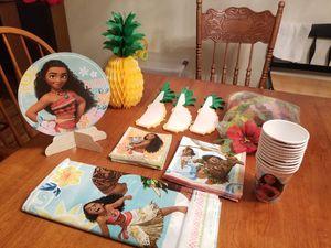 Moana birthday party supply