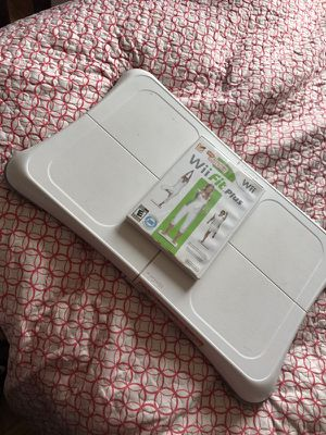 Wii Fit plus game disc.