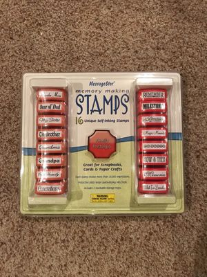 MessageStar memory making stamps set new