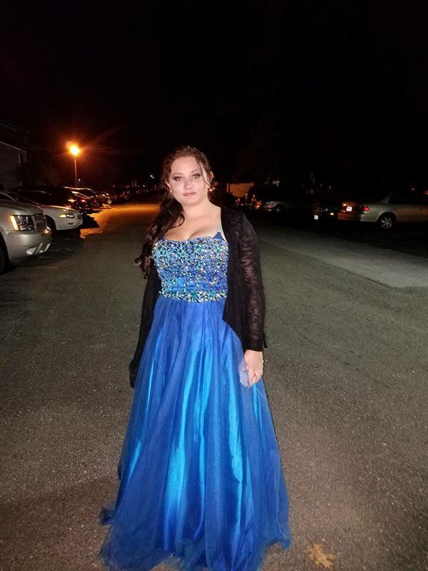 Blue prom dress size 10! (Clothing & Shoes) in Colonial Heights, VA