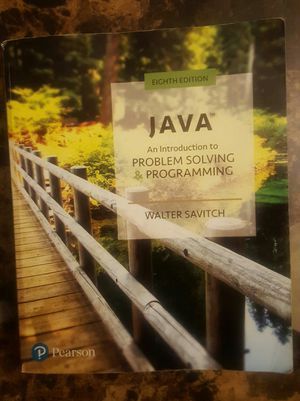 JAVA An Introduction to Problem Solving Programing