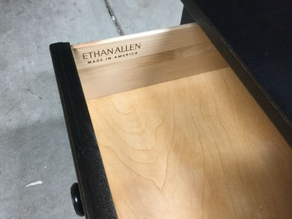 "ethan allen coffee table ""henry"" ( furniture ) in san jose, ca"