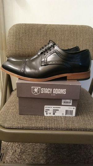 Black Stacy Adams Shoes