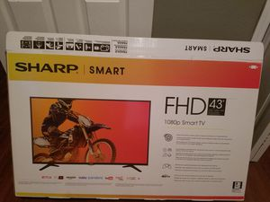43 inch Sharp Smart Tv