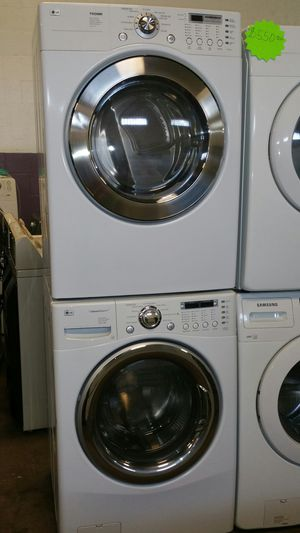 LG front load washer and dryer set- free delivery - 4 months warranty