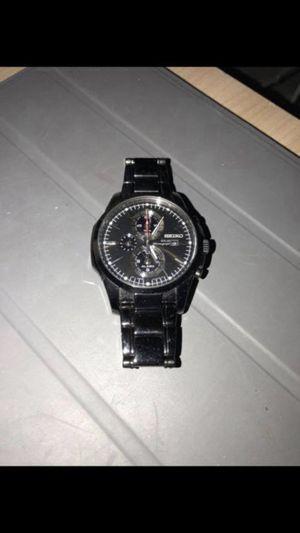 Seiko Men's Chronograph Black