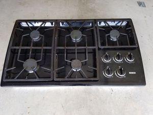 Bosch gas cooktop