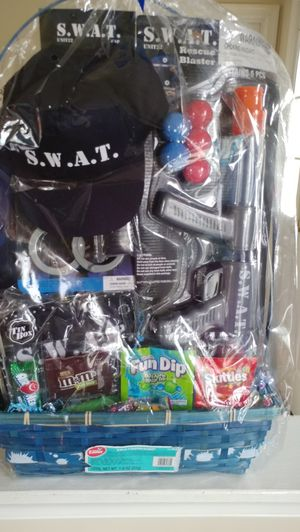 Swat Team Easter basket