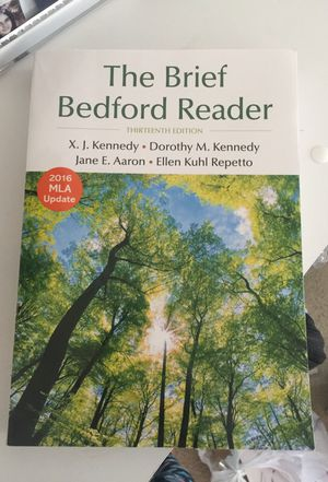 The Brief Bedford Reader 13th edition