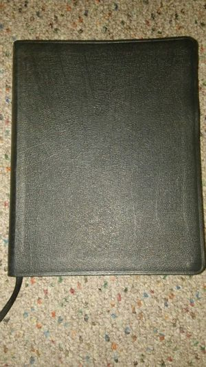 ESV Genuine Leather Journaling Bible