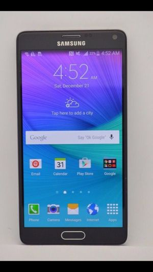 Samsung Galaxy Note 4 - Factory Unlocked - Comes w/ Box + Accessories