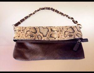 Brand new leather shoulder bag