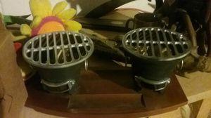 Double single grills.