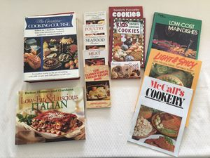 Collection of 12 Vintage Cookbooks