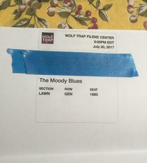 Moody Blues Tickets!!!