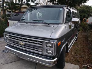 1989 chevy conversion van 20 series.