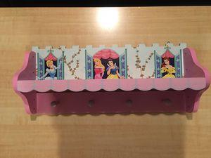 Disney Princess Coat Hanger/Shelf
