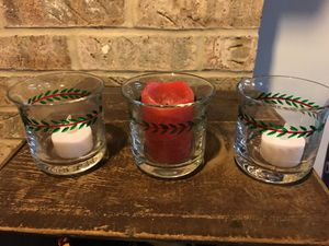 Christmas Votive Candle Holders
