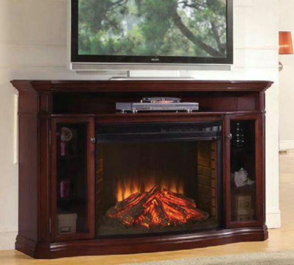 """Well Universal 72"""" Electric Fireplace Media Mantle (Furniture) in ..."""