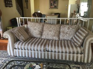 Living Room Set as shown. 6 pieces total (2 side tables)