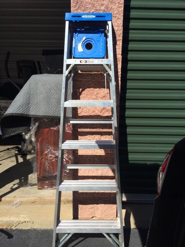 6 foot werner ladder household in alpharetta ga offerup for Buro 600 6ft ups
