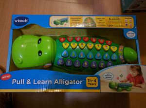 Pull and learn alligator