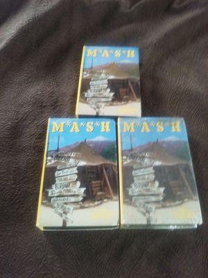 ONE LOT (65 ea) MASH VHS VIDEO CASSETTES