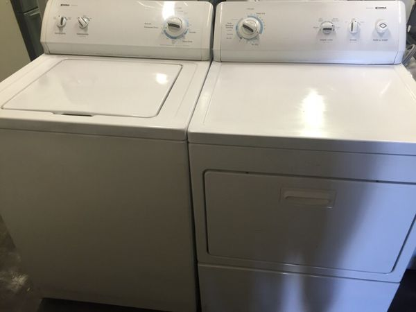 Kenmore 500 and 700 series Washer and electric Dryer Appliances
