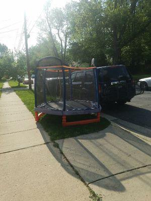 Kids toddler trampoline.