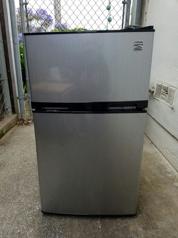 kenmore mini fridge. kenmore mini refrigerator with freezer fridge 2