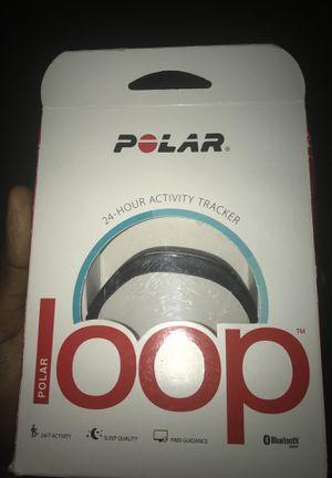 Polar loop fitness band