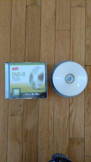 40 blank DVD's new&unused