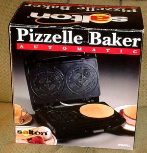 Electric PIZZELLE BAKER by Salton NIB