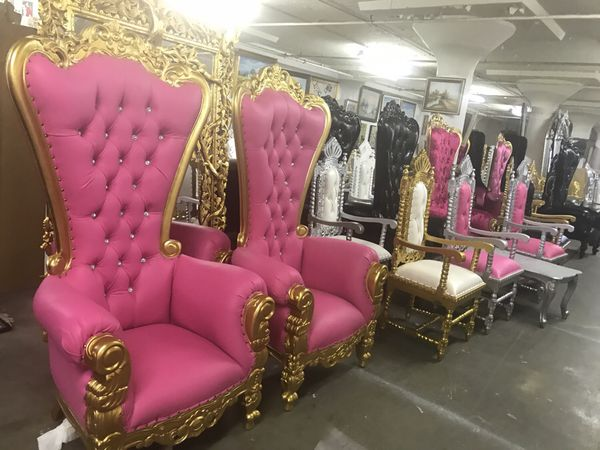 Beautiful throne chair.$1800. Best offer (Furniture) in Brooklyn, NY ...