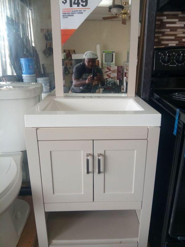 pretty glacier bay furniture. GLACIER BAY 24  fairlake vanity combo with mirror Household in