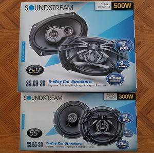 "Black Friday Sale! Soundstream speakers 6x9"" +Soundstream speakers 6.5"""