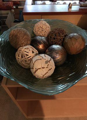 Decorative Bowl w/ fillers
