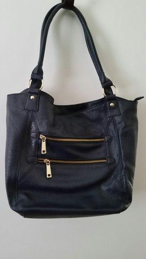 Large blue purse