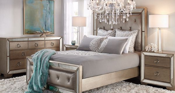 Brand new Z gallerie AVA Queen Entire Bedroom set retail $4,700+ ...