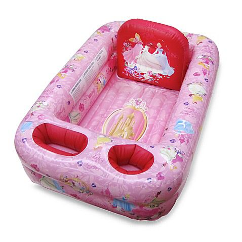 Inflatable princess bathtub for babies (Baby & Kids) in San Jose ...