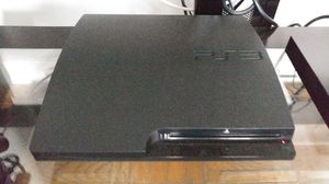 Ps3 system with four games
