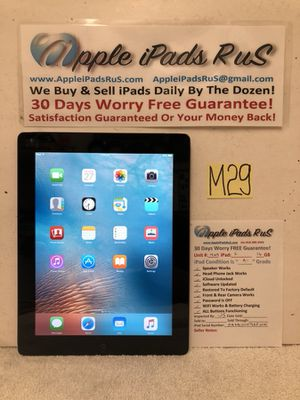 M29 - iPad 2 16GB