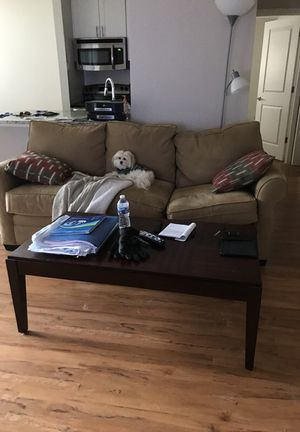 Table and couch