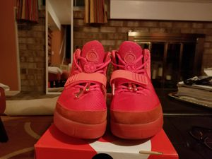 Unauthorized UA Nike Air Yeezy 2 Red October size 12 (Can get other sizes and other shoes if needed!)